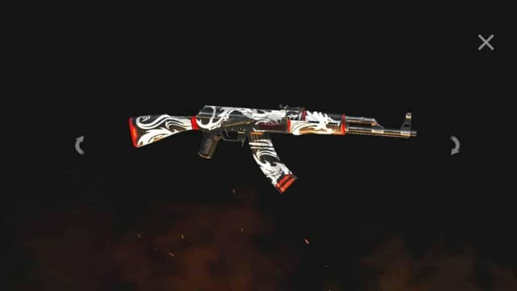 AK47-Flaming-Dragon