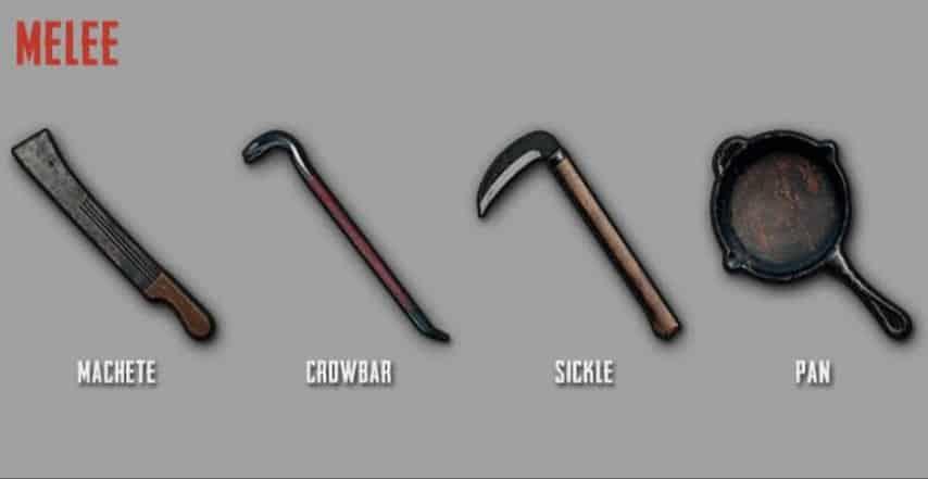 Menggunakan-Senjata-Melee